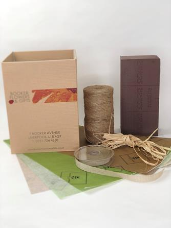 Eco Friendly Packaging - Booker Flowers
