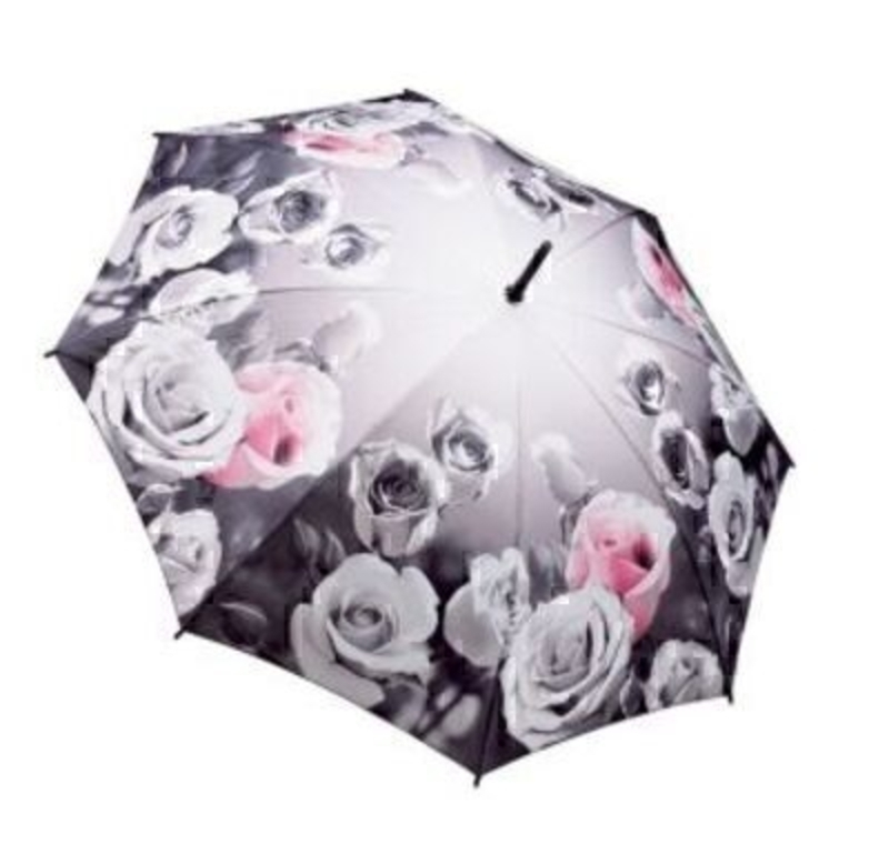 Antique Rose Umbrella By Blooming Brollies - Stick: Booker Gifts