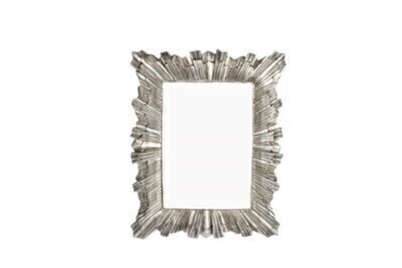 Antique Silver Starburst Picture Frame By Gisela Graham: Booker Gifts