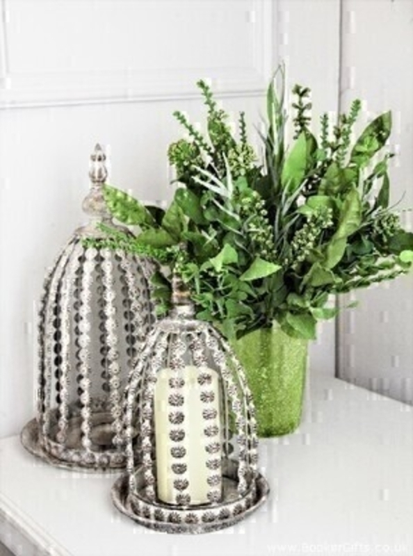 Artifical Bouquet of Mixed Foliage and Meadow Grass: Booker Gifts
