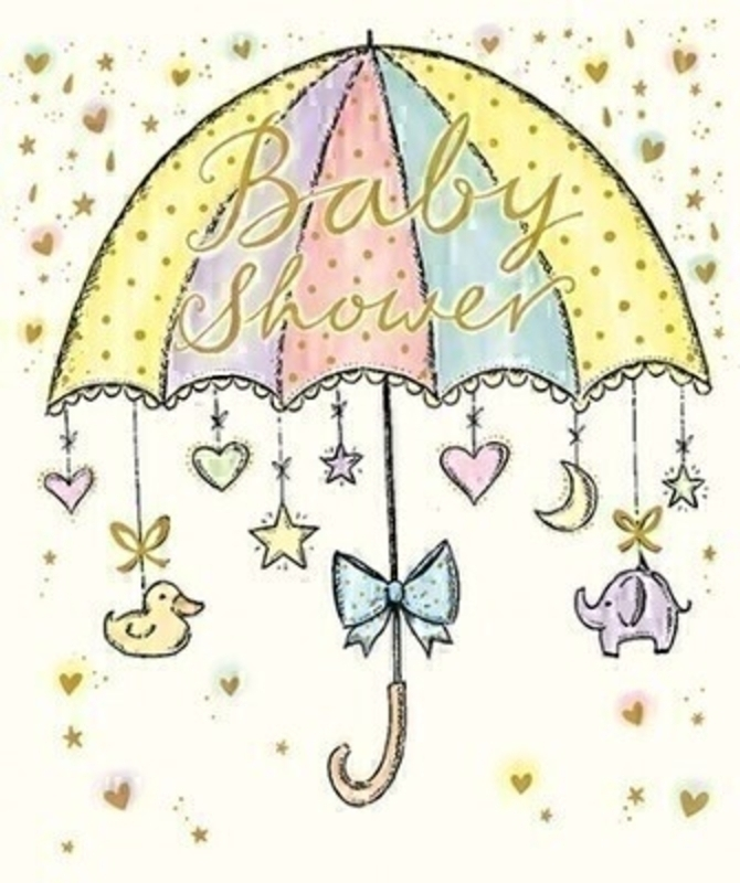 Baby Shower Greetings Card by Paper Rose: Booker Gifts