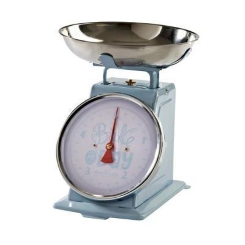 Bake My Day 5kg Powder Blue Scales by Mason Cash: Booker Gifts