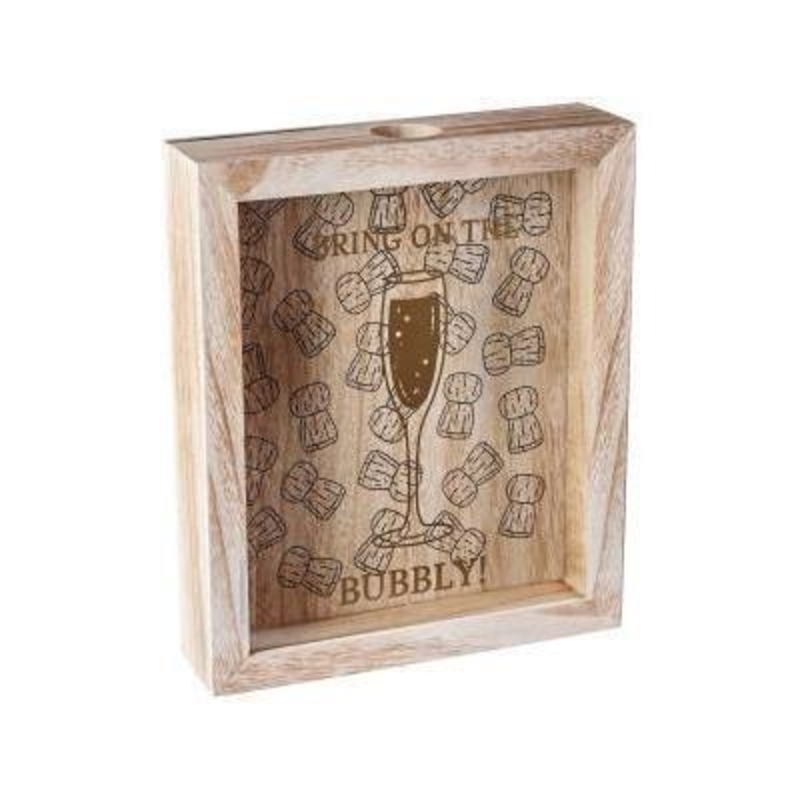 Champagne Cork Collection Box by Transomnia: Booker Gifts