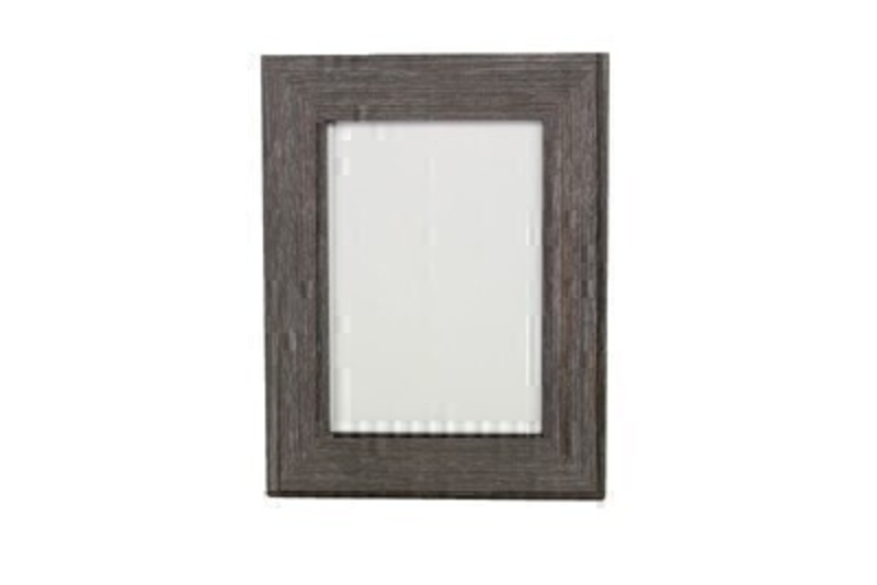 Charcoal Textured Picture Frame By Gisela Graham: Booker Gifts