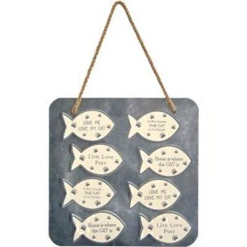 Choice of Fish Shape Cat Magnet by Transomnia: Booker Gifts