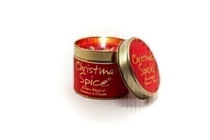 Let Lily Flame scented candles transport you to a different place - Christmas Spice; A Warm Blend of Cinnamon and Cloves. A Christmas time classic. Cuddle up and relax. This one of our most popular Christmas Scents. Burn Time 35 hours. Dimensions 7.7 x 6.