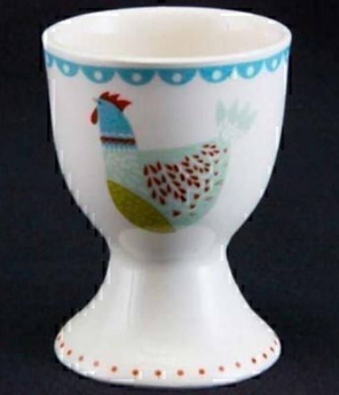 Colourful Hen Egg Cup By Gisela Graham: Booker Gifts