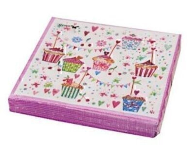 Cupcake Kate Napkins By Stewo: Booker Gifts