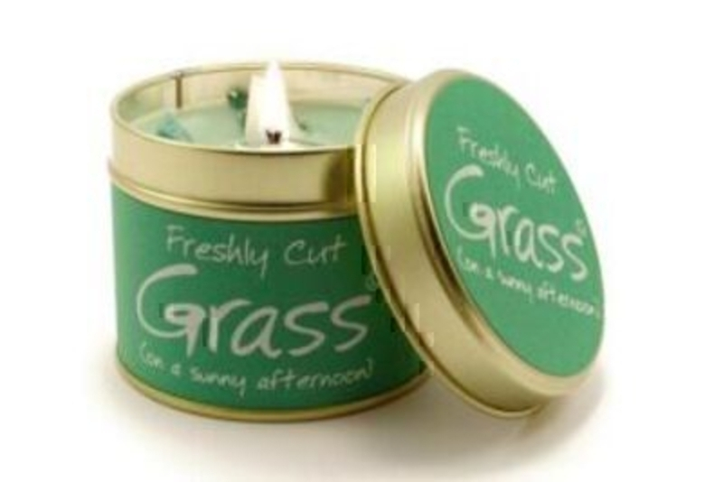 Cut Grass Scented Candle By Lily Flame: Booker Gifts
