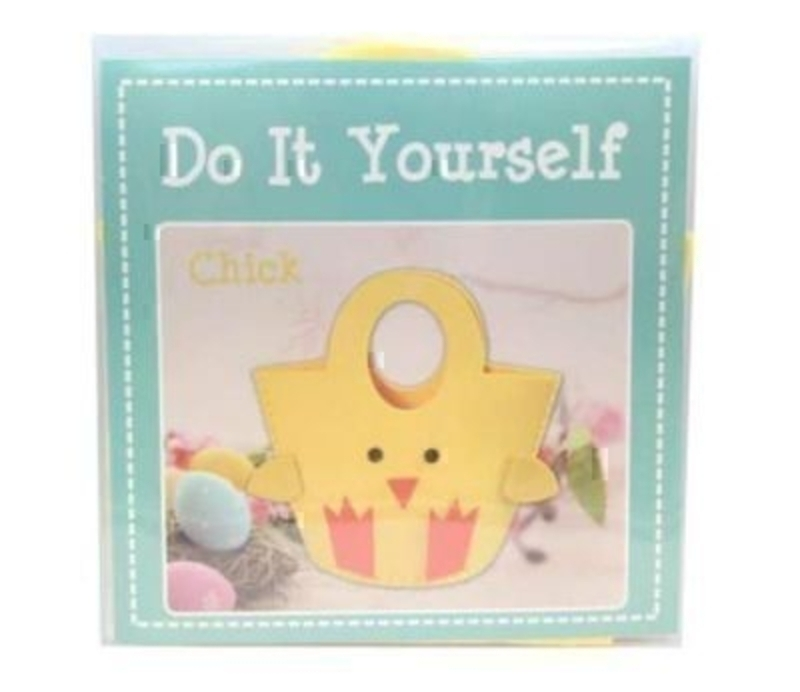 Do It Yourself Easter Chick Felt Bag by Gisela Graham: Booker Gifts