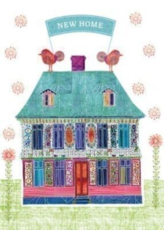Embossed New Home Card by The Art Group: Booker Gifts