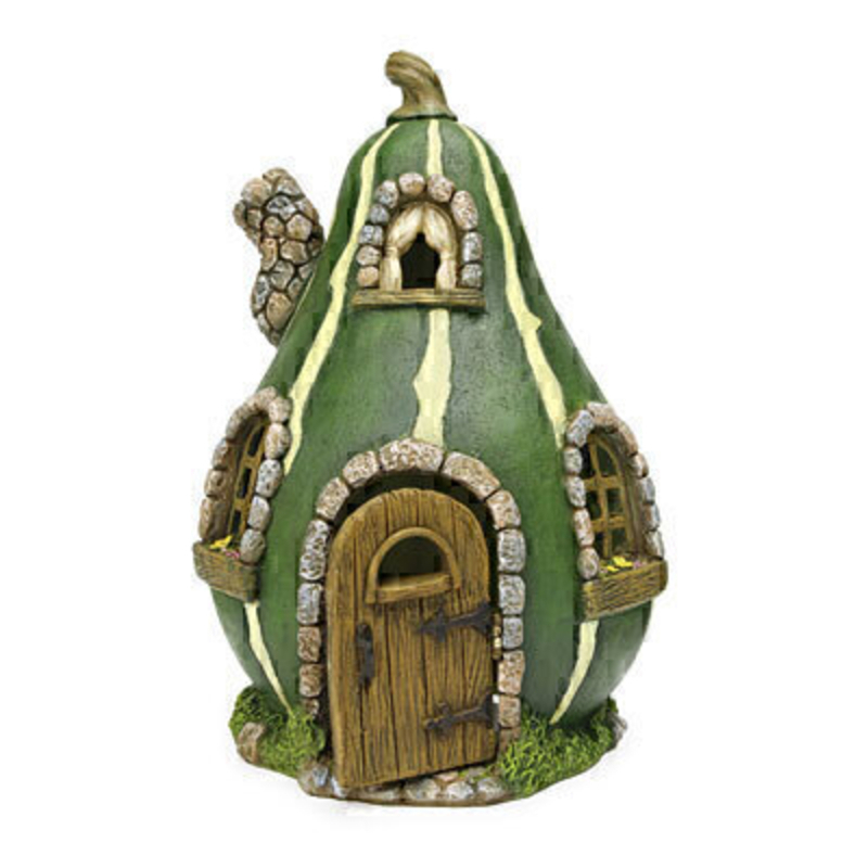 Fairy Garden Gourd House - By Woodland Knoll: Booker Gifts