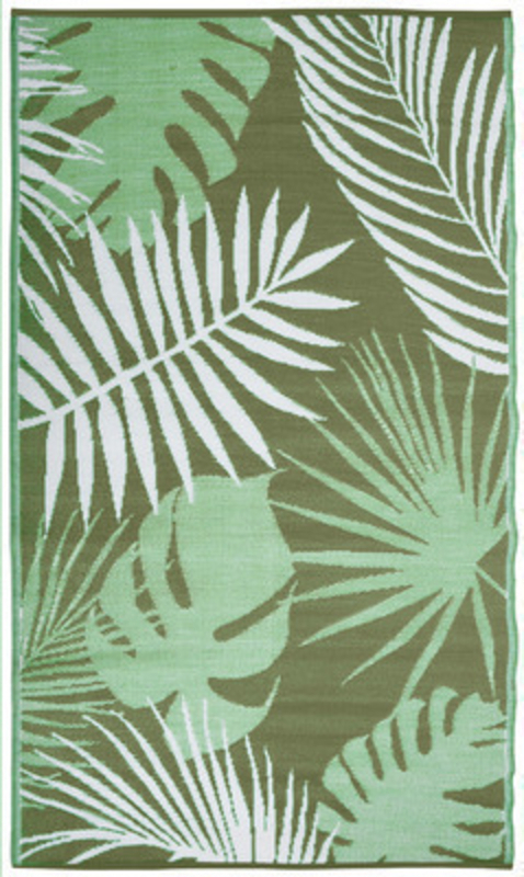 Fallen Fruits Tropical Leaf Garden Carpet Rug: Booker Gifts