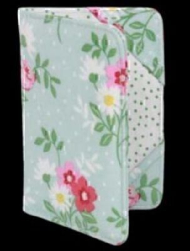 Flourish Floral Passport Cover By Gisela Graham: Booker Gifts