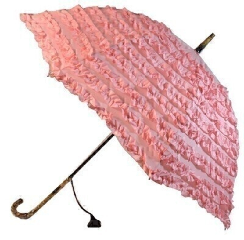 Frilly Pink Umbrella Fifi By Boutique STICK Umberella: Booker Gifts
