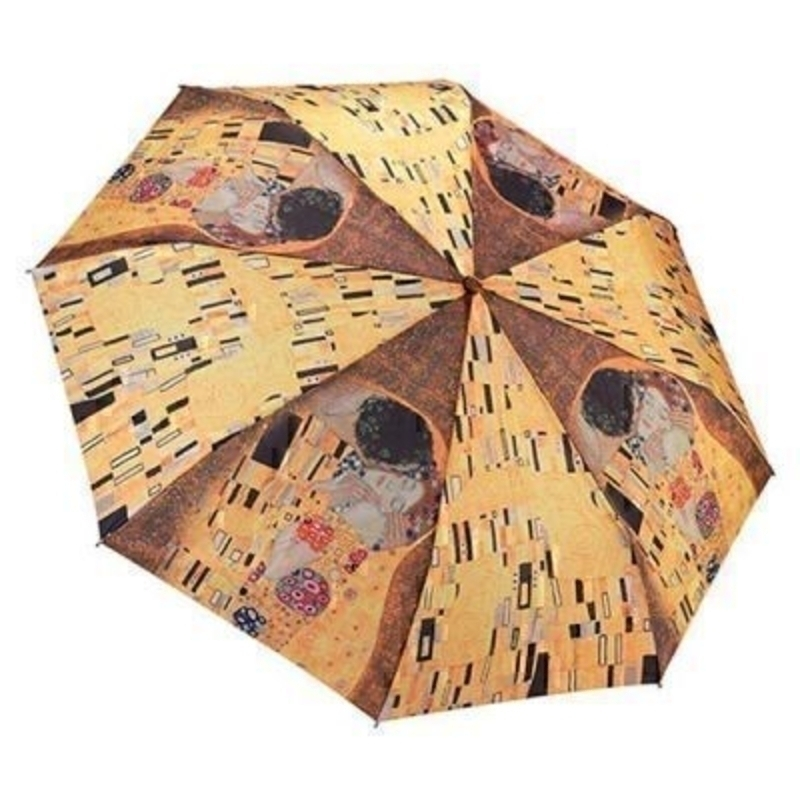 Galleria Gustav Klimt The Kiss Umbrella - Folding: Booker Gifts