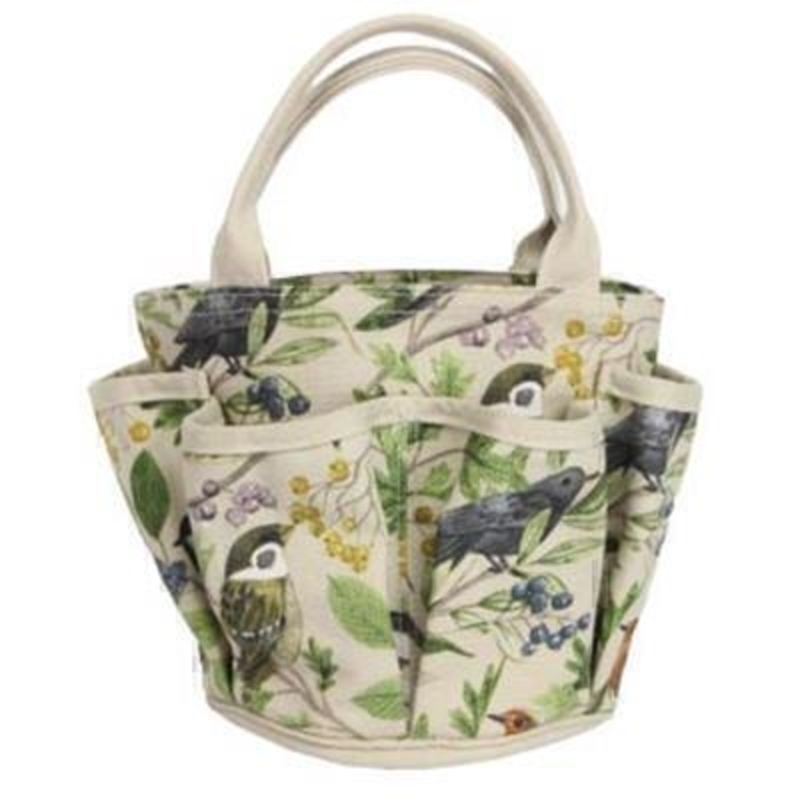 Garden Birds Cotton Gardening Bag by Gisela Graham: Booker Gifts