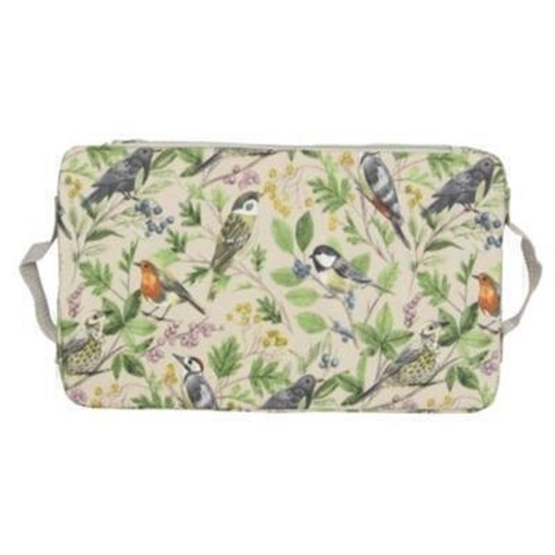Garden Birds PVC Kneeling Pad by Gisela Graham: Booker Gifts