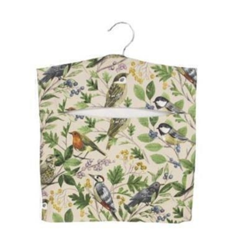 Garden Birds Peg Bag by Gisela Graham: Booker Gifts