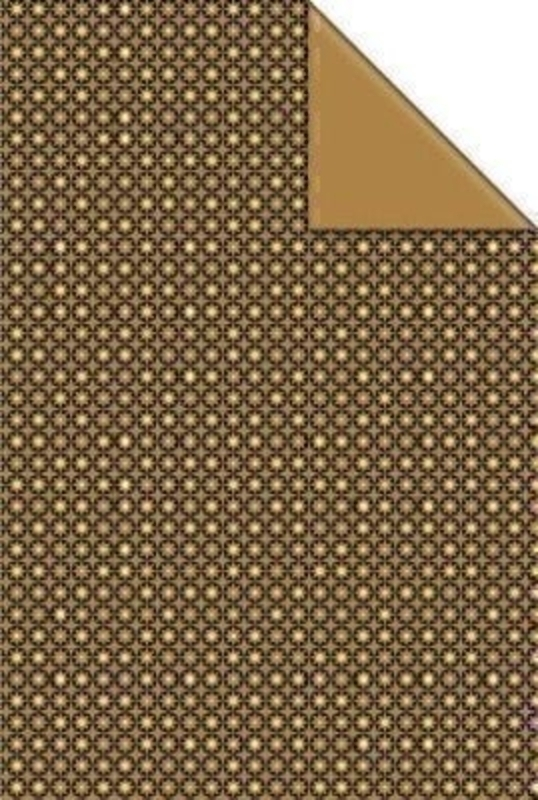 Gold star Auron Christmas Wrapping Paper by Stewo: Booker Gifts
