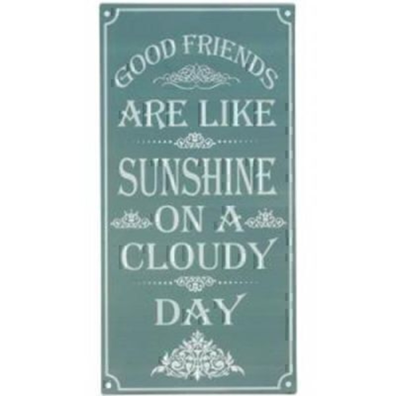 Good Friends Sunshine Sign by Transomnia: Booker Gifts