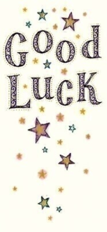 Good Luck Stars Card by Paper Rose: Booker Gifts