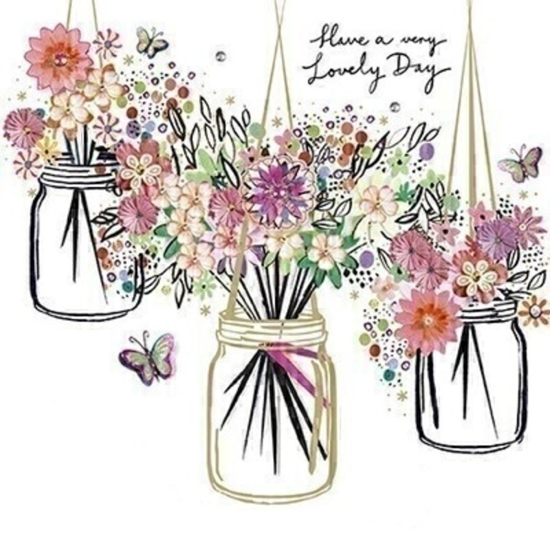 Jam Jars Birthday Card by Paper Rose: Booker Gifts