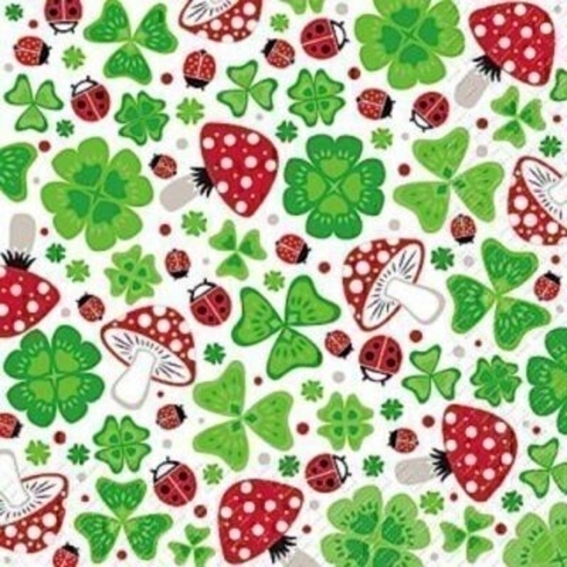 Ladybird Mushroom Mojo Napkins By Stewo: Booker Gifts