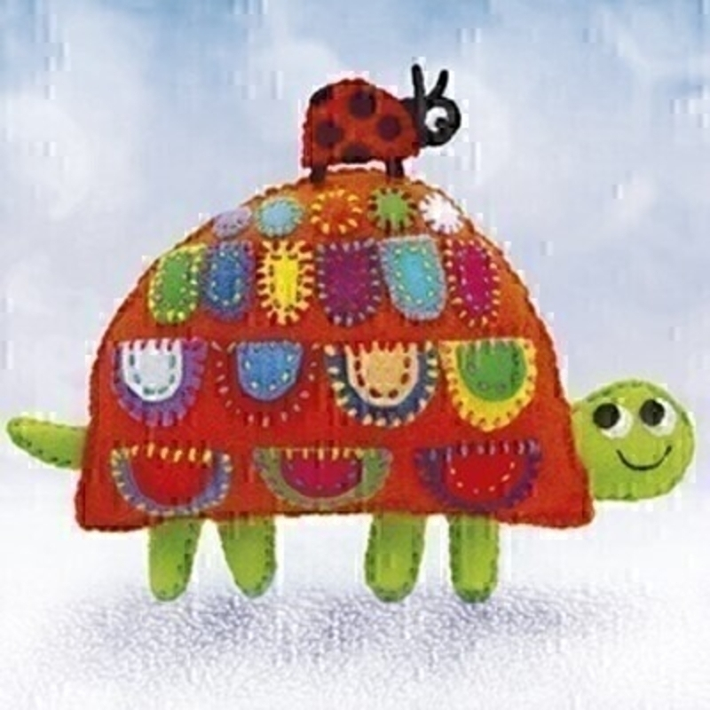 Ladybird and Tortoise Blank Card by Paper Rose: Booker Gifts