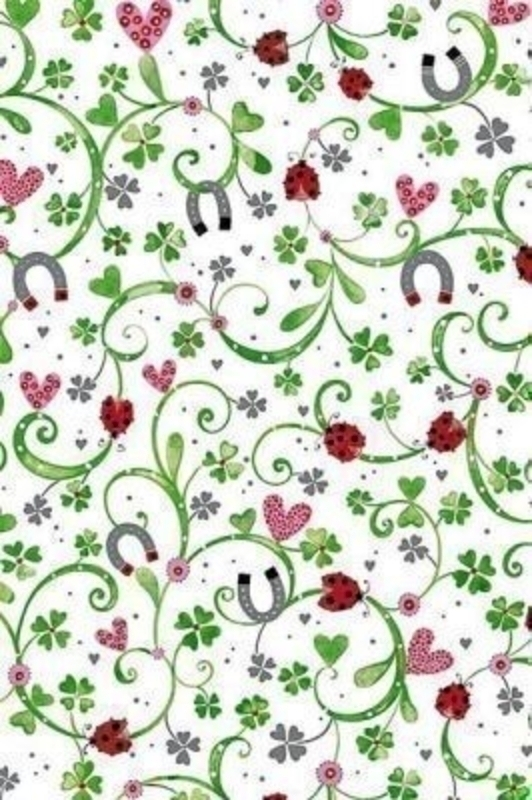 Ladybirds And Horseshoes Vincent Roll Wrap By Stewo: Booker Gifts