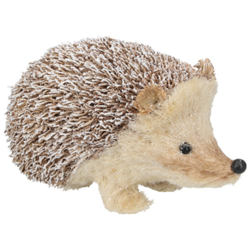 This Christmas ornament of a snowy bristle hedgehog will make a lovely addition to your Christmas decorations. Sure to make everyone smile. Made from bristle. This fesive hedgehog by designer Gisela Graham will delight for years to come. It will compliment any Christmas deccorations and could be sat next to your Christmas Tree or in your hallway or on your mantlepiece at Christmas year after year. Remember Booker Flowers and Gifts for Gisela Graham Christmas Decorations.