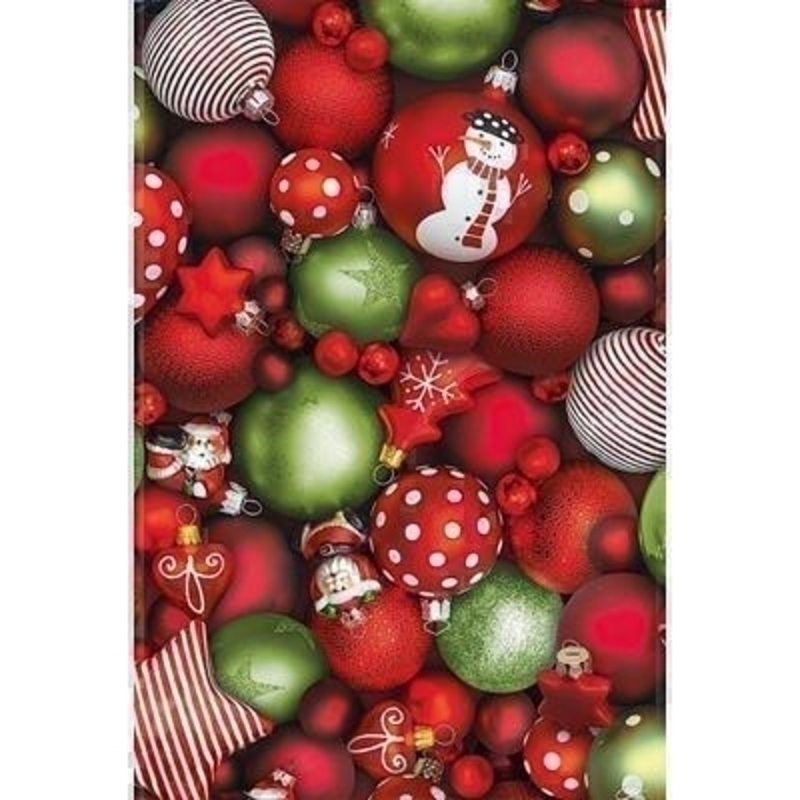 Luxury Christmas Bauble Photo Wrapping Paper by Stewo: Booker Gifts