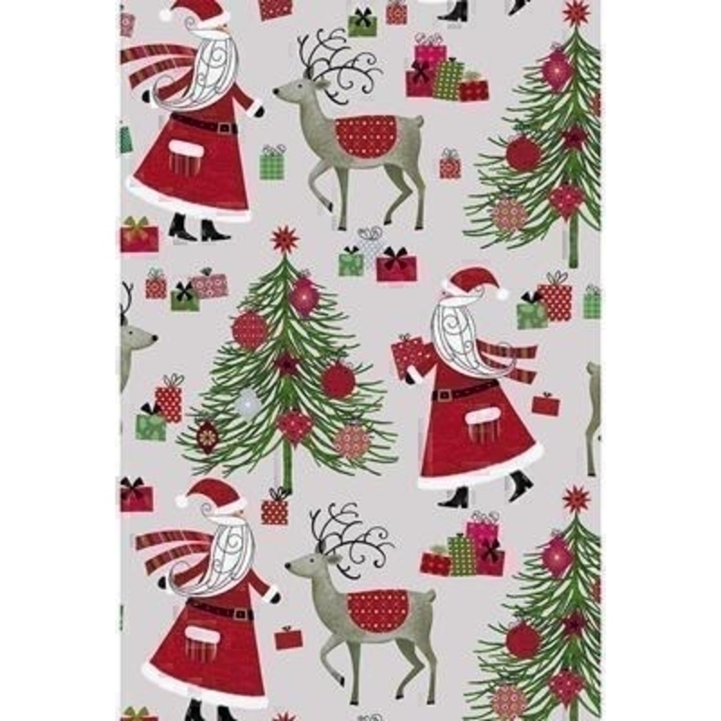 Luxury Father Christmas Wrapping Paper by Stewo: Booker Gifts