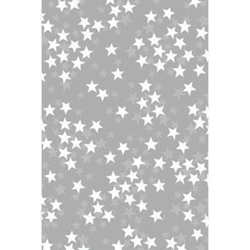 Luxury Silver Star Wrapping Paper by Stewo: Booker Gifts
