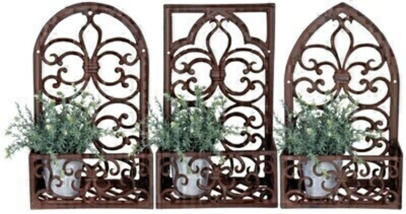Metal Planter Window Frame - Choice of 3: Booker Gifts