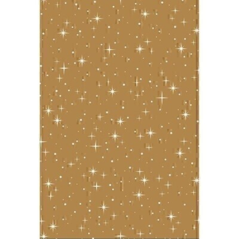 Nova Gold Christmas Gift Wrap Roll: Booker Gifts