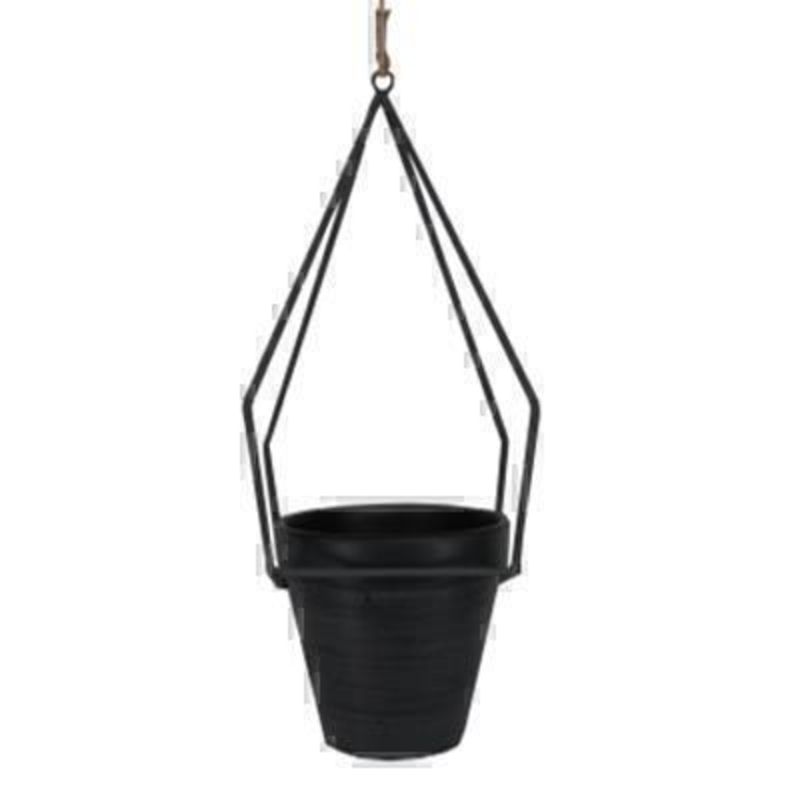 Obelisk Frame Hanging Pot Cover by Gisela Graham: Booker Gifts