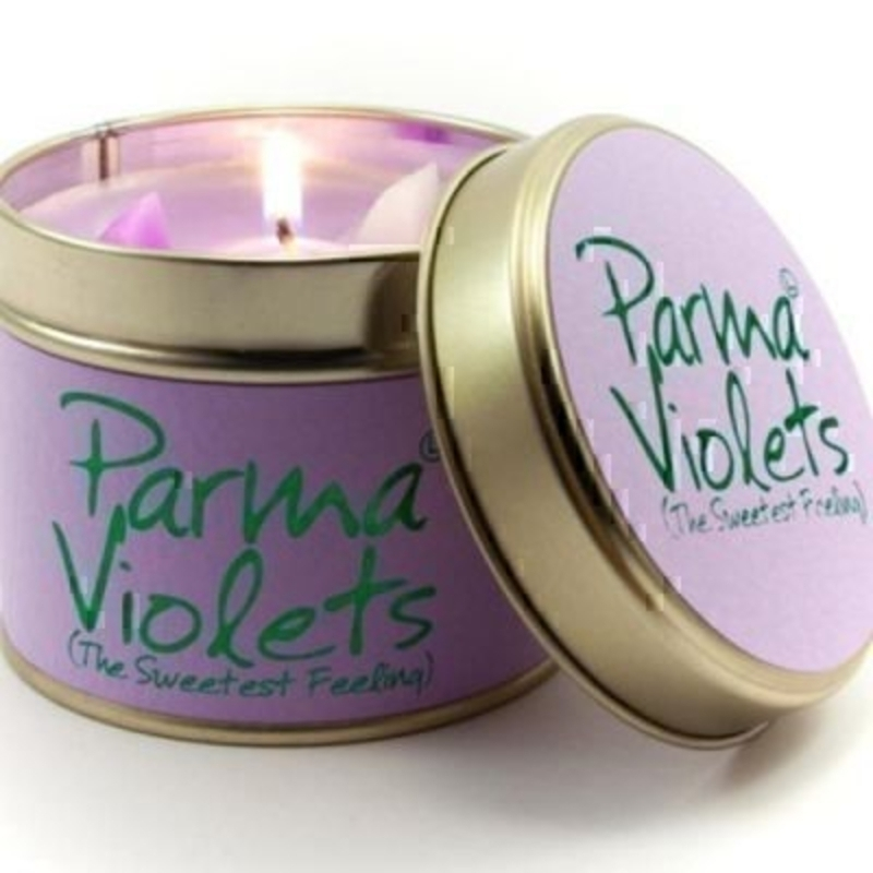Parma Violets Scented Candle By Lily Flame: Booker Gifts