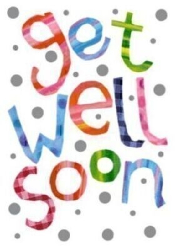 Portobello Get Well Soon Card By Paper Rose: Booker Gifts
