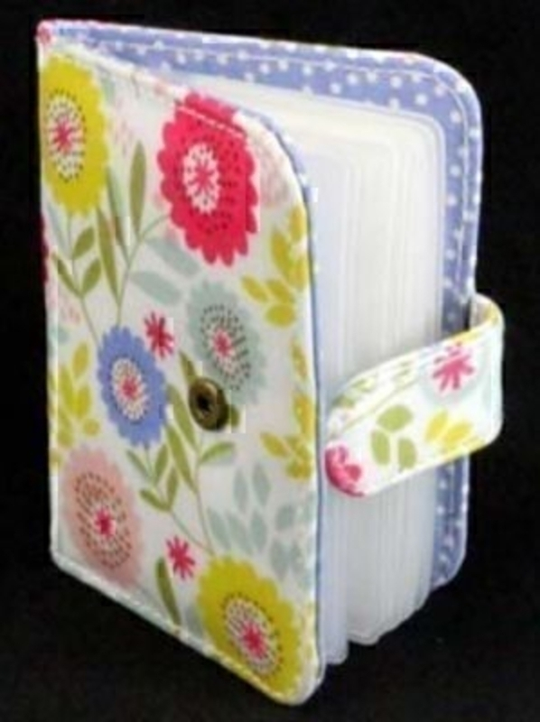 Pvc Card Wallet Floral Song Design By Gisela Graham: Booker Gifts