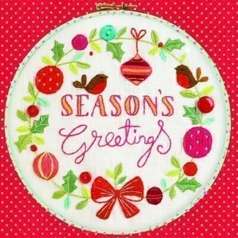 Seasons Greetings Charity Christmas Cards for GOSH: Booker Gifts