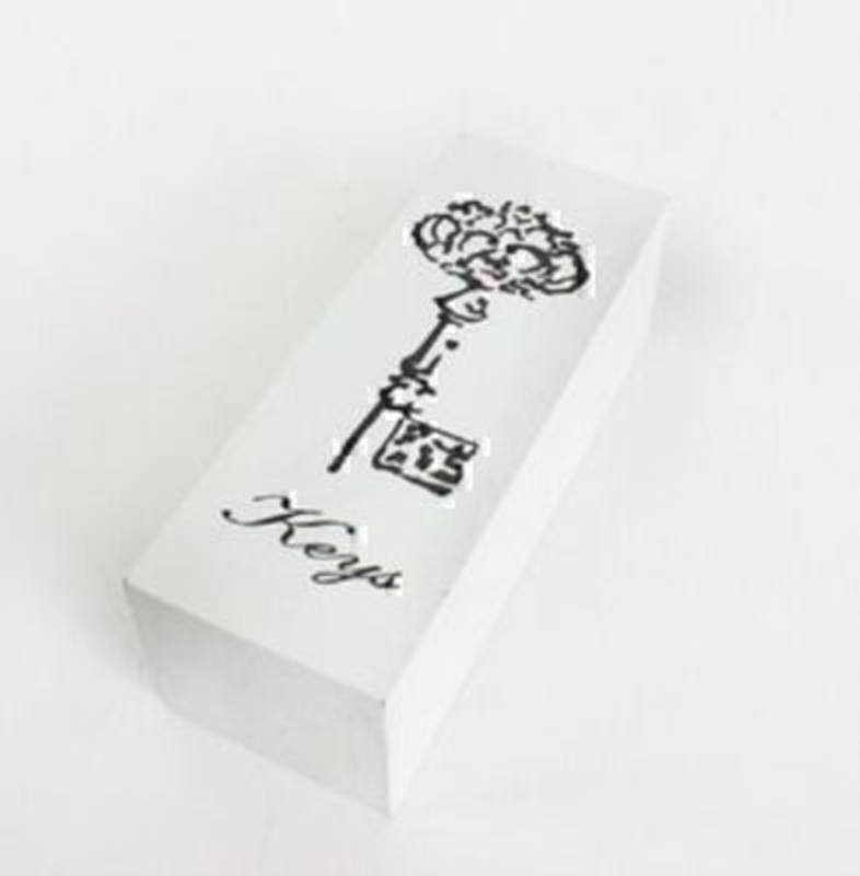 Shabby Chic White Key Box By Heaven Sends: Booker Gifts
