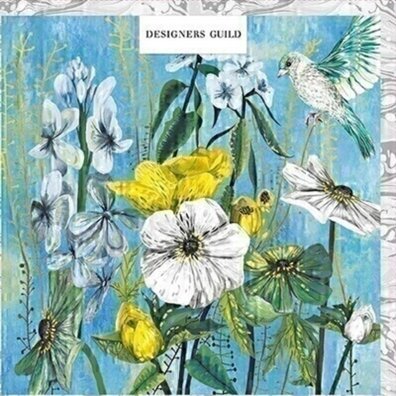 Summer Cottage Garden Flowers Card by Paper Rose: Booker Gifts