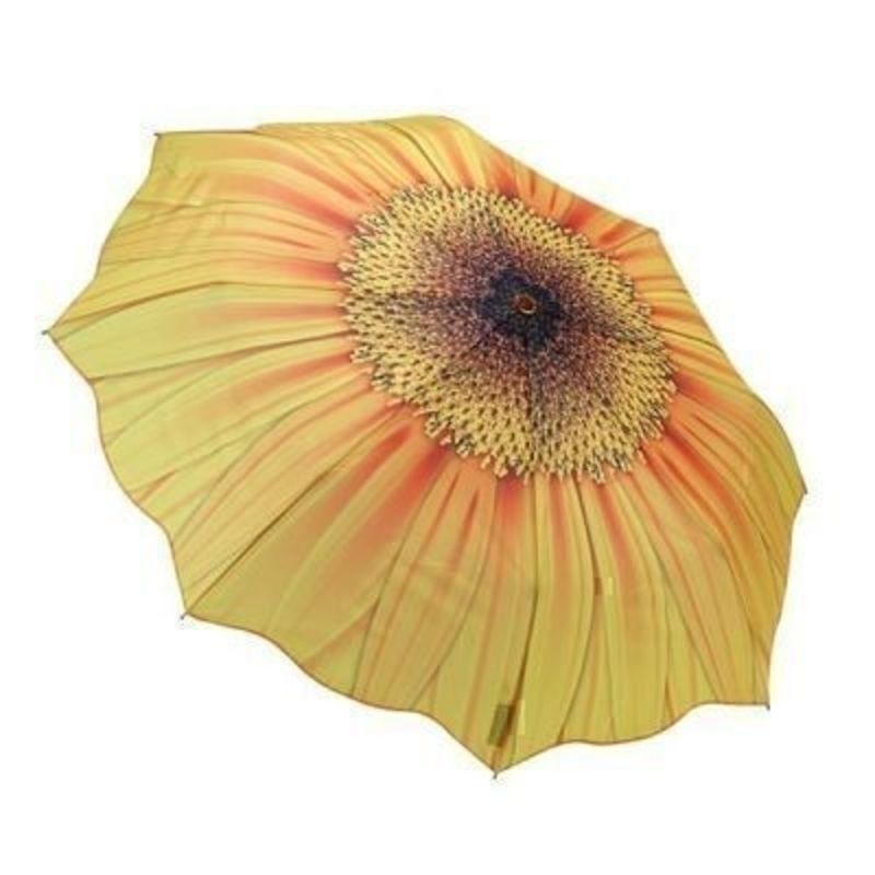 Sunflower Umbrella By Blooming Brollies - Folding: Booker Gifts