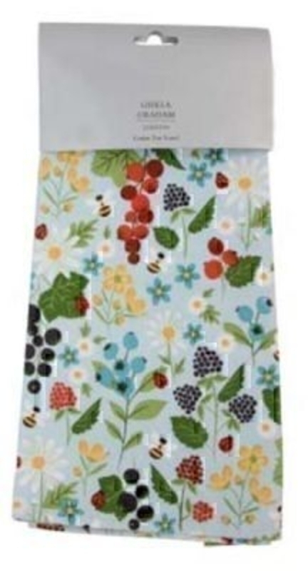T-Towel Kitchen Garden Design Gisela Graham: Booker Gifts