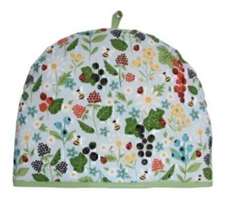 Tea Cosy Kitchen Garden Design Gisela Graham. A really beautiful tea cosy in the popular Kitchen Garden design by Gisela Graham would make a great new home gift or a gift for a tea lover. Size 36x27cm