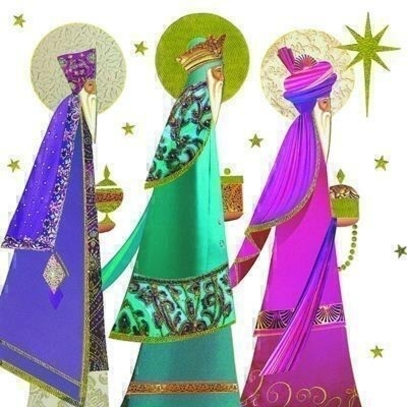 Three Kings Charity Christmas Card for GOSH: Booker Gifts
