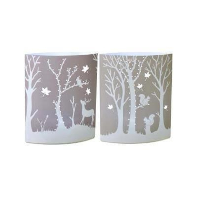 Woodland LED Paper Lantern by Transomnia: Booker Gifts