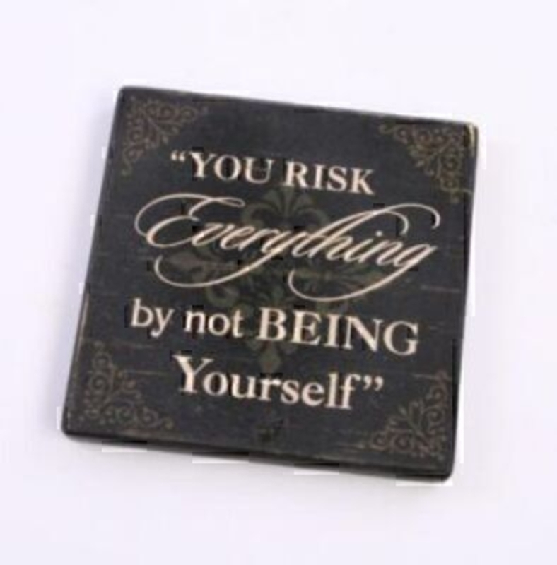 You Risk Everything... Magnet By Heaven Sends: Booker Gifts