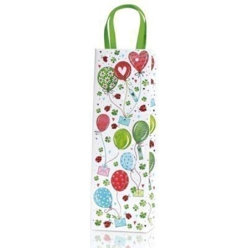 Alina Bottle Bag By Stewo Balloons And Ladybirds Design: Booker Gifts